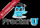 ProctorU logo - click to learn more