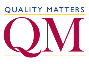 Quality Matters has changed is rubric.
