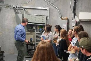 Students See 'How it Works' in Hybrid Course